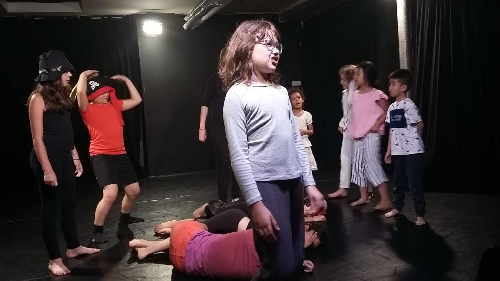 stage de theatre pour enfants et ados aux Ateliers Comédie Paris