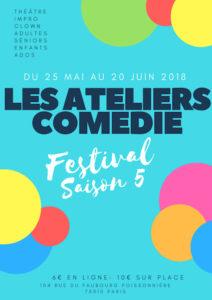 Festival Ateliers Comédie