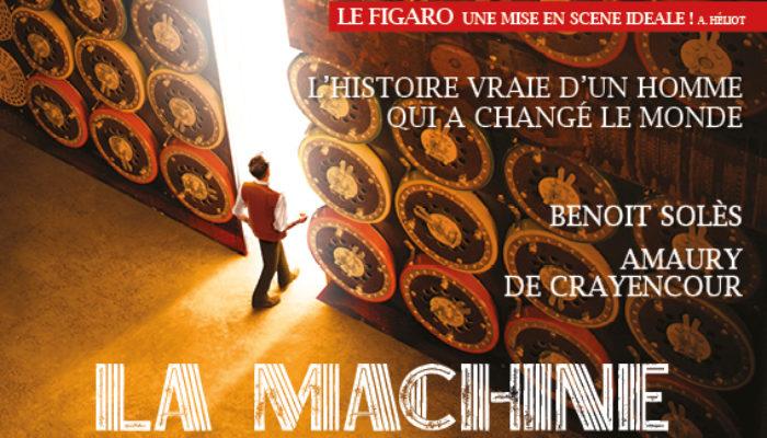 La Machine de Turing, au Théâtre Michel